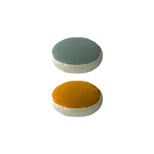 Bonbon round - celadon, or - India Mahdavi