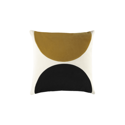 Eclipse - mustard, black - India Mahdavi