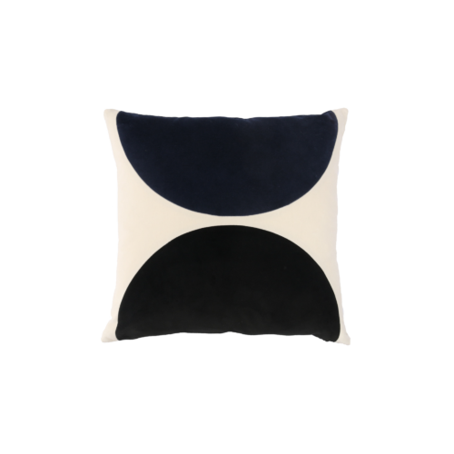 Eclipse - midnight blue, black - India Mahdavi