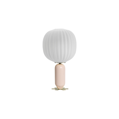 Casanova lamp - powder pink - India Mahdavi
