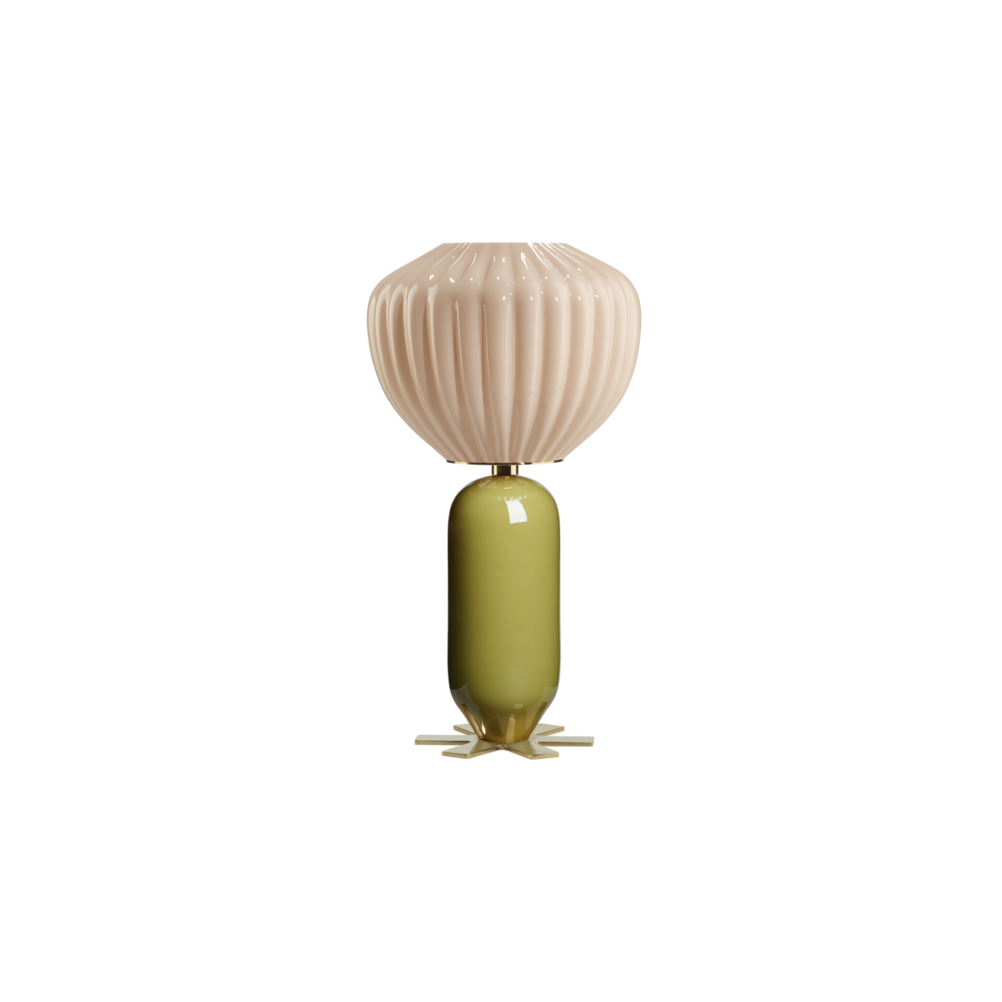 Don Giovanni lamp - OLIVE GREEN, PINK - India Mahdavi
