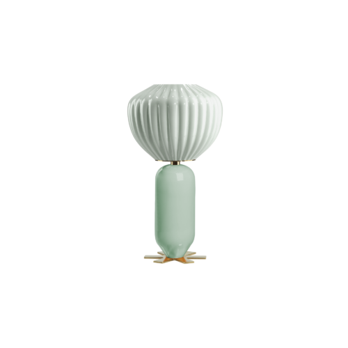 Don Giovanni lamp - celadon, blue - India Mahdavi