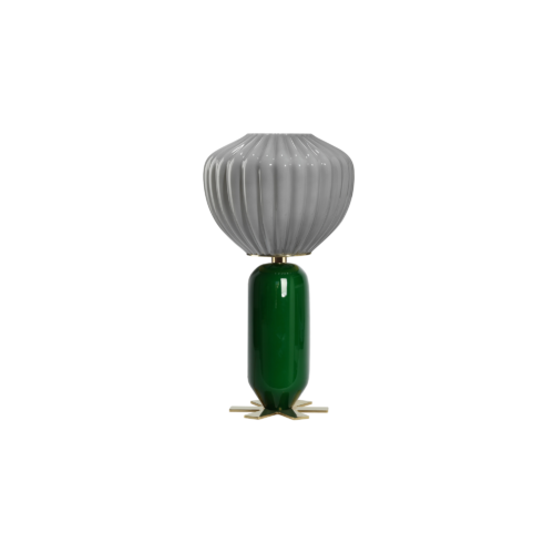 Don Giovanni lamp - GREEN, GREY - India Mahdavi