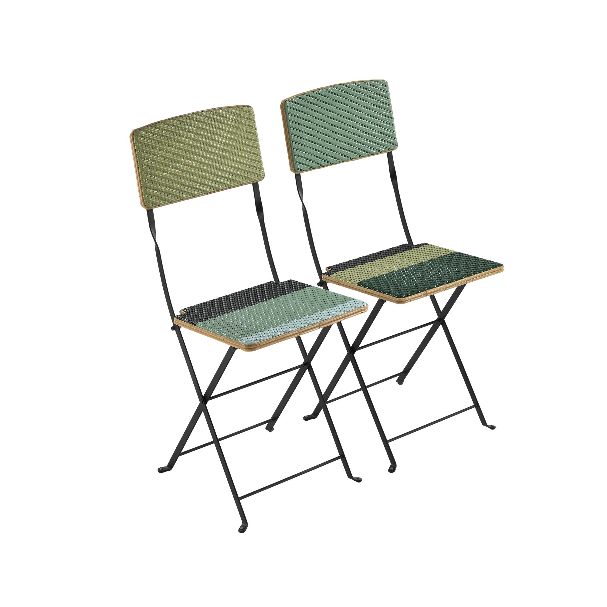 Candy chair - LIGHT GREEN & MINT GREEN - India Mahdavi