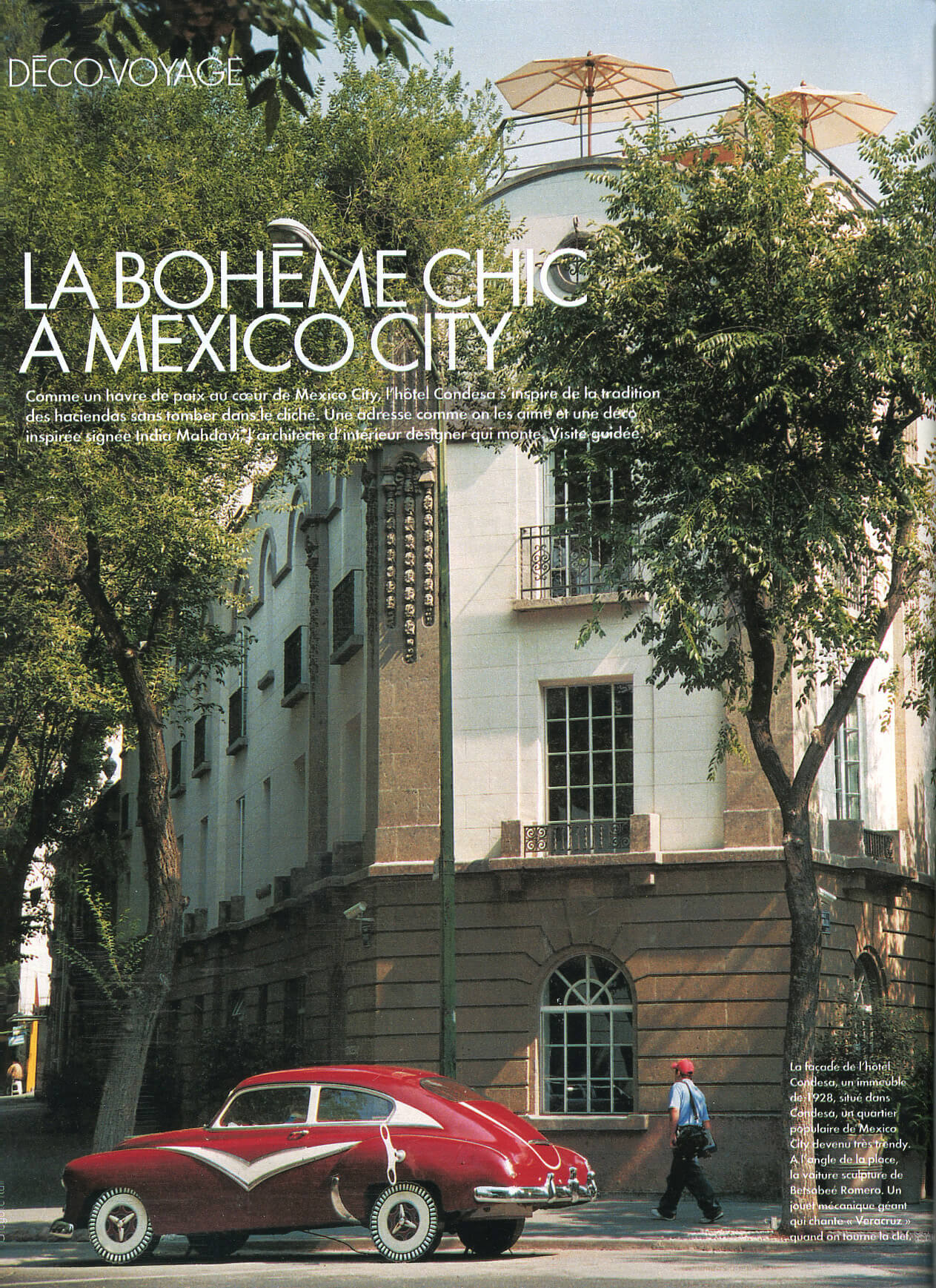 La bohème chic à Mexico - India Mahdavi