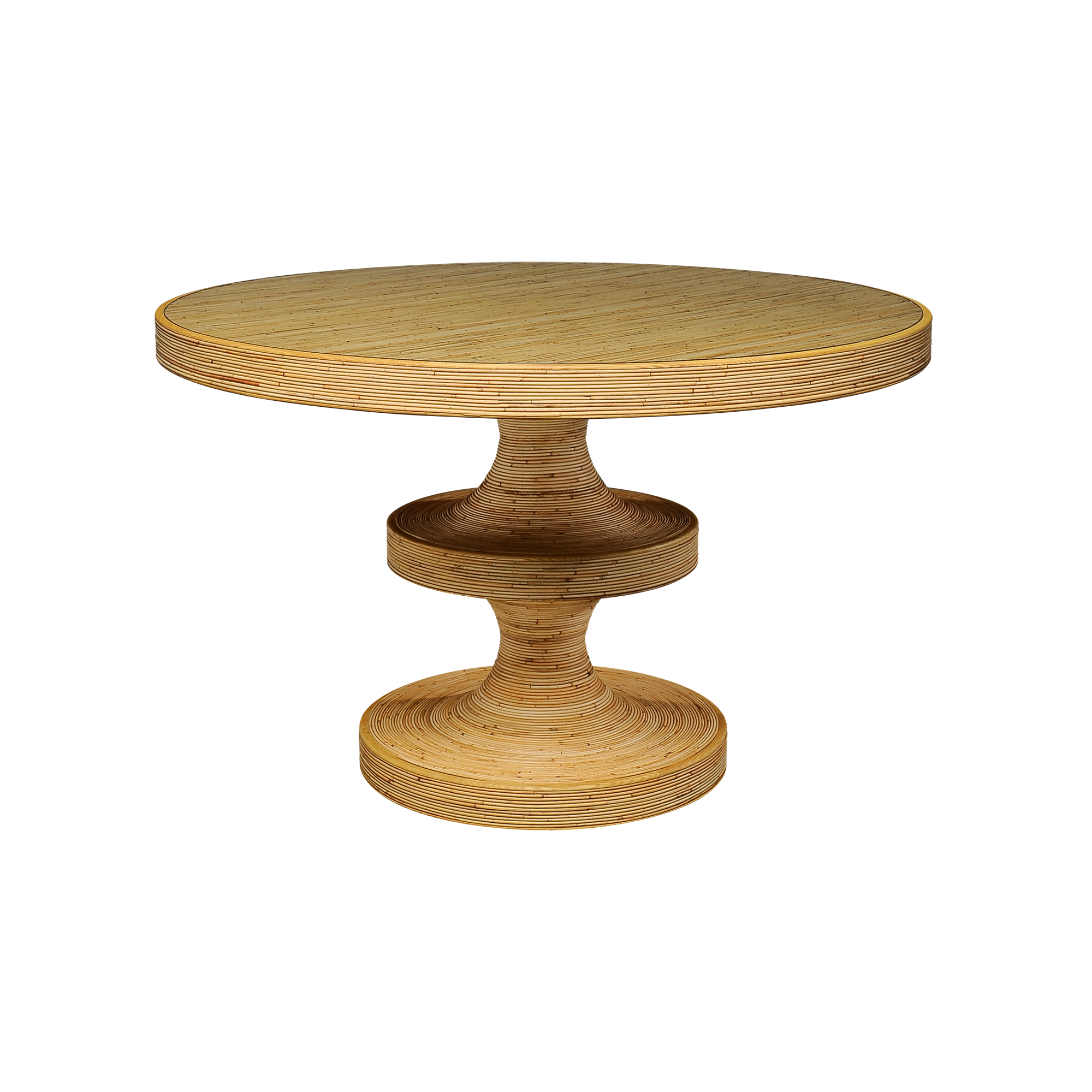 Rattan Bishop table - India Mahdavi